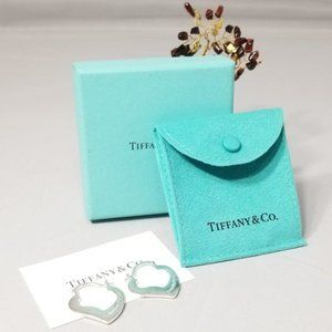 Tiffany & Co. Elsa Peretti Heart Hoop Earrings